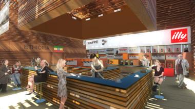Coffee Cluster, la celebrazione del caffè all'EXPO 2015